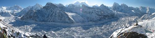ri nepal panorama sunrise trek geotagged glacier pan himalaya everest nuptse gokyo solukhumbu sagamartha ngozumba 8000er geo:lat=2798132867651713 geo:lon=8682876772143858