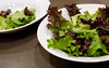 Salad greens two ways