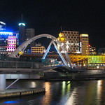 Yarra River and Southbank Footbridge
