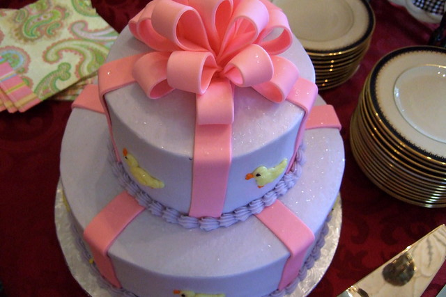 Baby Shower Cakes in OKC http://www.flickr.com/photos/strph/505265527/
