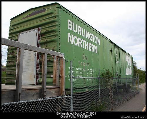 BN Insulated Box Car 748601