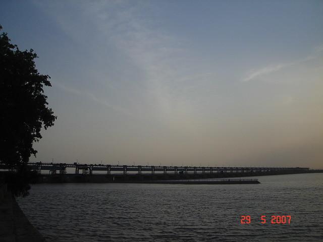 Kotri Barrage, Jamshoro.