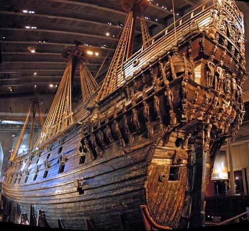17世紀の幽霊帆船・ヴァーサ   死ぬまでに一度は行ってみたい場所。