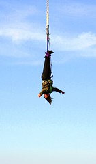 adventure, bungee jumping, bungee cord, sports, extreme sport, person,