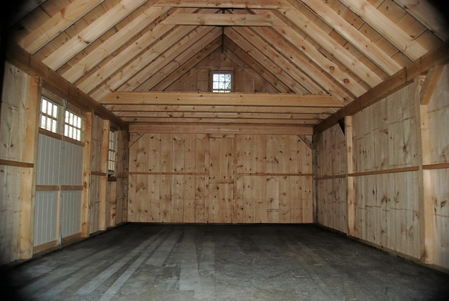 16x24 shed with loft joy studio design gallery best design for Barn shed with loft plans