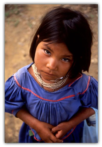 """Huichol girl""  amazing colors with velvia 50"
