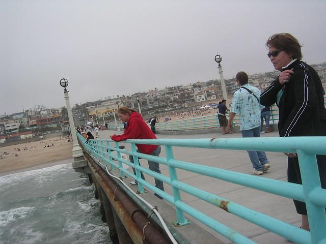 britt, mom in manhattan beach | Brittany, my sister, and Nyr ...