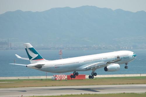 A330-343X(B-HLOA) take off @KIX/RJBB