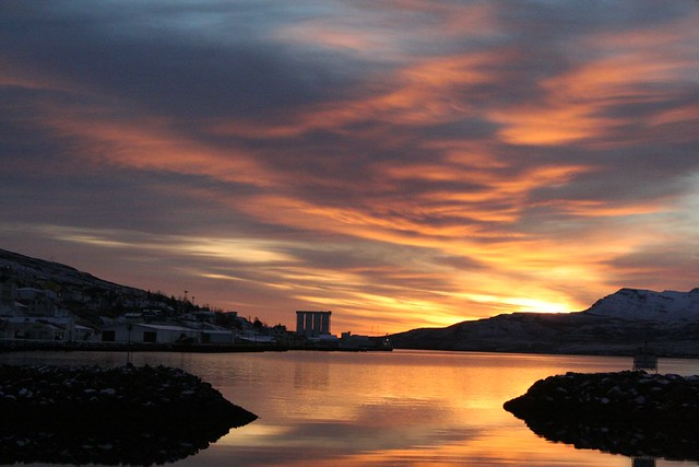 Faskrudsfjordur Iceland  city pictures gallery : Sunrise, Faskrudsfjordur, Iceland | Flickr Photo Sharing!