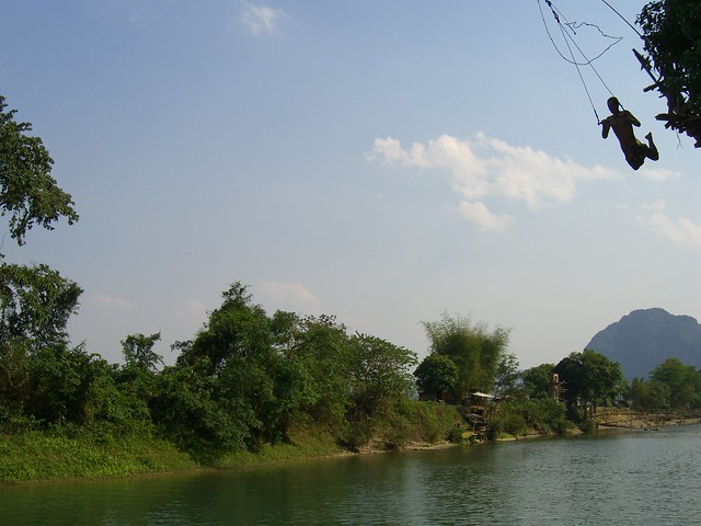 Zipline in Laos