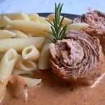 Schnitzelröllchen à la Italia