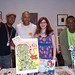 Cartoonists With Attitude + friend: Keith Knight, Masheka Wood, Mikhaela Reid, Ayo
