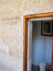 St. Teresa's confessional