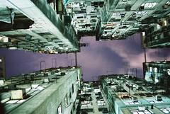 [フリー画像素材] 建築物・町並み, ビルディング, 家屋・住宅, 夜景, 風景 - 中華人民共和国, 中華人民共和国 - 香港 ID:201212012000