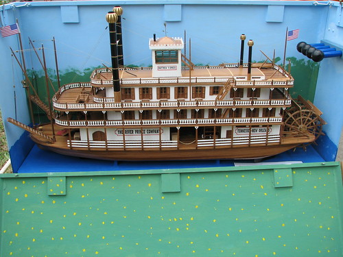 Modellschiff: Flußdampfer