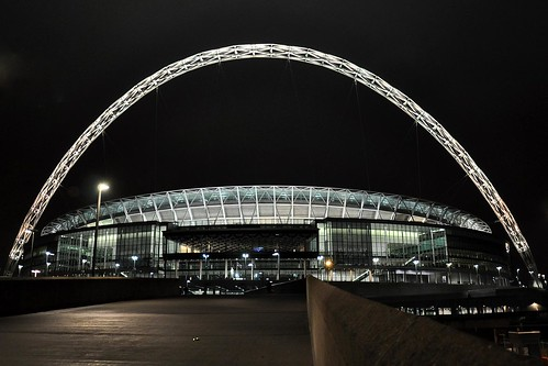 Photograph by Martin Pettitt- Wembley Stadium