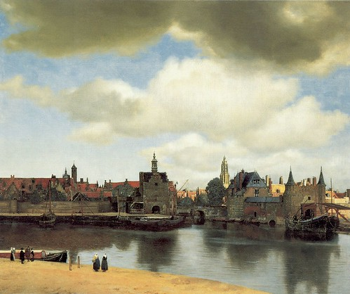"""view of delft"" by Vermeer"