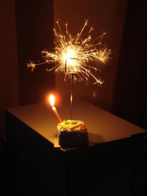 Birthday Cake Pics Sparklers