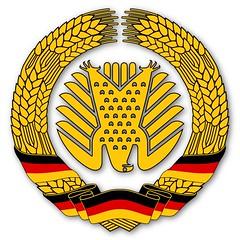Staatswappen der BRDDR…