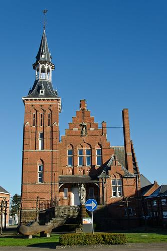 Vorst, voormalig Gemeentehuis.