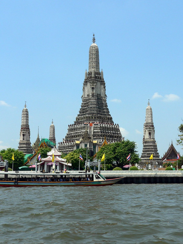 Wat Arun, Temple of Dawn, Bangkok, Thailand