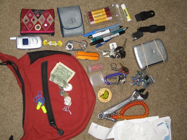 April 6 bag contents