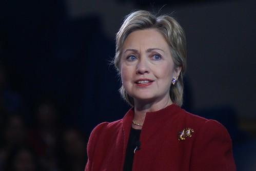 Hillary Clinton in Hampton, NH