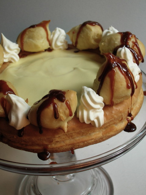 Gateau Saint Honore - We Dare You Recipe — Dishmaps