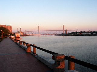 Savannah River at Sunrise