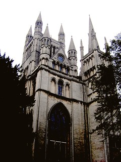 die Kathedrale von Peterborough