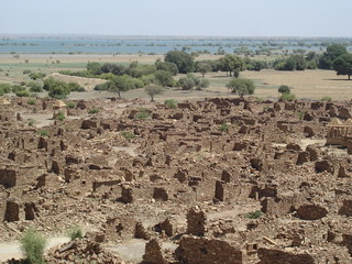 The ruins of Khaba village