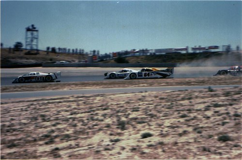 Start of IMSA GTP race at Laguna Seca, 1991