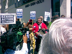 Senior Action Network Press Conference