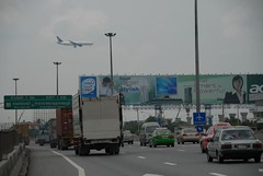 Road to Suvarnabhumi Airport, Bangkok