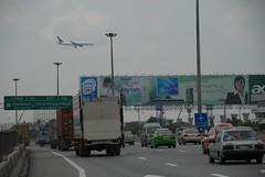 Road to Suvarnabhumi Airport, Bangkok