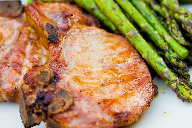 Bourbon-Brined Pork Chops | Read more about this on www.meat ...