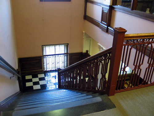 Stairs, Carrier Library, JMU