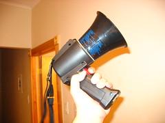 Fear Me: I have a bullhorn