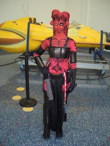 Star Wars  Red Jedi Girl