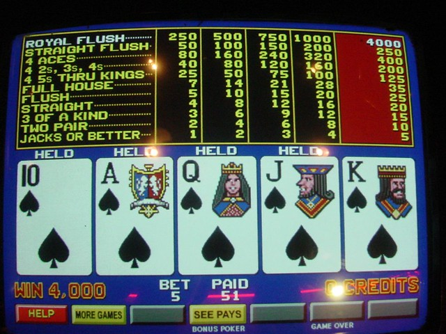 Video Poker Jackpots A Gallery On Flickr