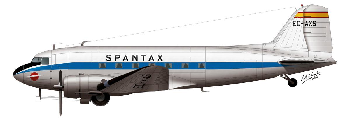 Douglas DC-3 Spantax