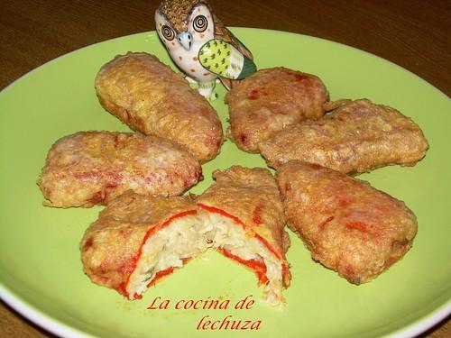 La cocina de lechuza recetas de cocina con fotos paso a - Pimientos rellenos de carne picada y bechamel ...