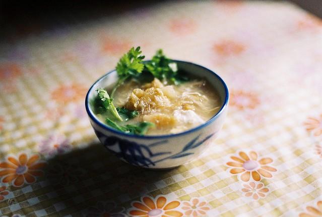 Shark's fin soup