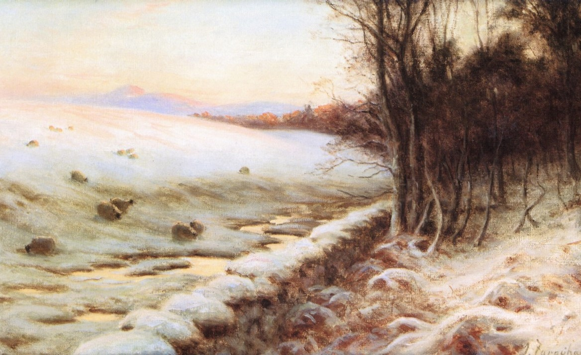 The Edge of the Wood by Joseph Farquharson