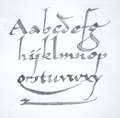 Carpenter Pencil Calligraphy Flickr Photo Sharing