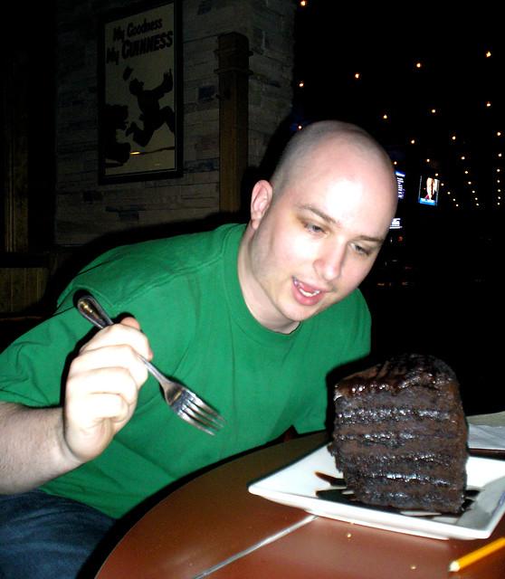 Mile High Chocolate Cake