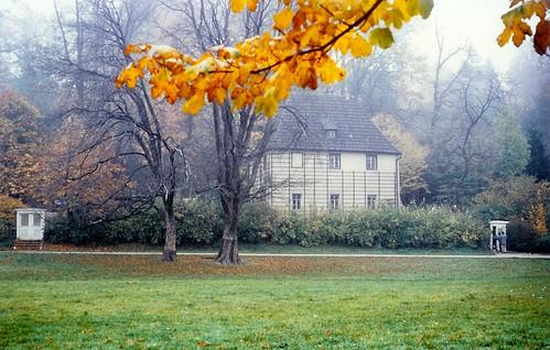 Goethes Gartenhaus/ Gardenhouse /  in Weimar