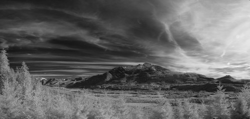 trees panorama clouds outdoors washington infrared pacificnorthwest snohomishcounty mountpilchuck 950nm