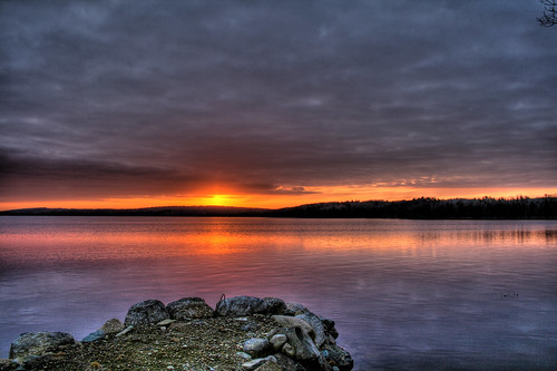 morning lake canada sunrise spring novascotia halifax hdr eastcoast jesters bridgewater photomatix impressedbeauty