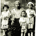 Fabiana H. Fontanillas and her grandchildren, Philippines, 1921 by toucanne